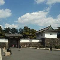 Photo taken at Sakuradamon Gate by Motohiro M. on 3/14/2012