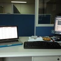 Photo taken at CGI Office, IBM Plaza, Eastwood City, QC by Ren C. on 8/14/2012