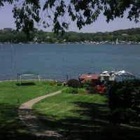 Photo taken at Weatherby Lake, MO by Casey H. on 7/4/2012