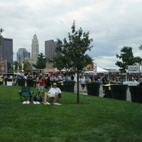 Photo taken at North Bank Park Pavilion by Nicolle R. on 7/21/2012