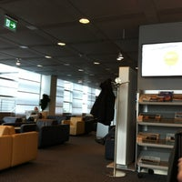 Photo taken at Lufthansa Business Lounge by Mohammed Salim S. on 4/26/2012