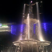 Photo taken at Fountain Square by Cocoa L. on 6/19/2012