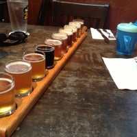 Photo taken at Portsmouth Brewery by Josh T. on 8/19/2012