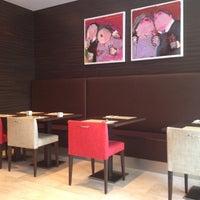 Photo taken at Hotel NH Amsterdam Zuid by Oksana S. on 9/1/2012
