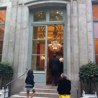 Photo taken at Maison de l'Amérique Latine by Théo M. on 6/1/2012