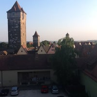 Photo taken at Hotel Prinzhotel Rothenburg by Christopher I. on 8/10/2012