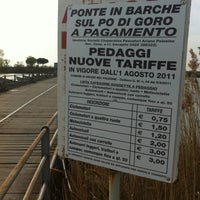 Photo taken at Ponte Di Chiatte by Alb on 3/31/2012