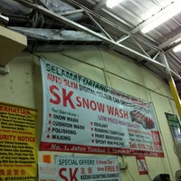 Photo taken at SK Snow Wash by Daniel T. on 4/19/2012