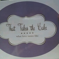 Photo taken at That Takes the Cake by Jenny W. on 8/24/2012
