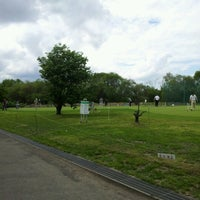 Photo taken at 豊平川雁来健康公園ショートコース by Tetsuya H. on 6/10/2012