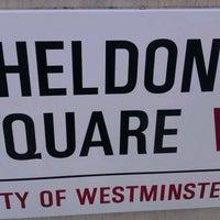 Photo taken at Sheldon Square by languageblock on 8/8/2012