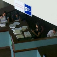 Photo taken at Instituto Postal Dominicano (INPOSDOM) by Luis P. on 4/13/2012