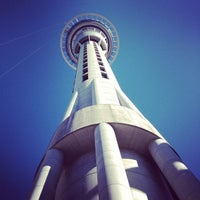 Photo taken at Sky Tower by MC L. on 9/12/2012