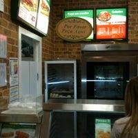 Photo taken at Subway by Julio C. on 2/28/2012