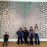 Photo taken at Frederick R. Weisman Art Museum by amy m. on 2/11/2012