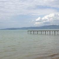 Photo taken at Lago Trasimeno by Lucia D. on 5/1/2012