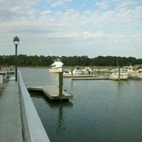 Photo taken at Salty Dog Cafe-Waterside Deck by Oscar L. on 6/3/2012
