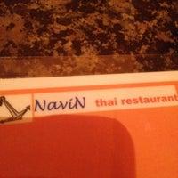 Photo taken at Navin Thai Restaurant by JM H. on 4/17/2012