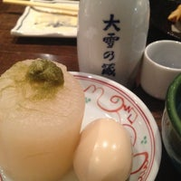 Photo taken at 串焼 おでん 根 北一条店 by aomame on 2/28/2012