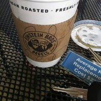 Photo taken at Einstein Bros Bagels by Gabriela M. on 4/28/2012
