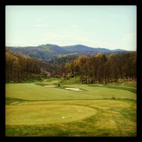 Photo taken at Rocky Gap Casino's Jack Nicklaus Signature Golf Course by suzi on 4/9/2012