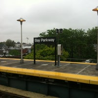 Photo taken at MTA Subway - Bay Parkway (D) by Maria F. on 5/22/2012