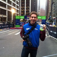 Photo taken at NYRR NYC Half 2012 - Finish Line by Jeffzilla on 3/18/2012
