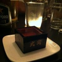 Photo taken at Sake Bar Satsko by Melissa K. on 6/1/2012