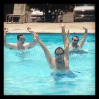 Photo taken at Farmwood Swimming Pool by Daniel R. on 6/24/2012
