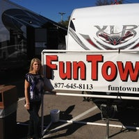 Photo taken at Fun Town RV by Jarrod M. on 5/5/2012
