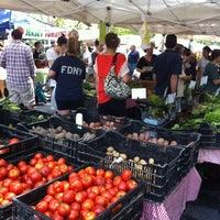 Photo taken at McCarren Park Greenmarket by Melissa S. on 8/11/2012