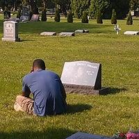 Photo taken at Oak Woods Cemetery by Sandra E. on 9/13/2012
