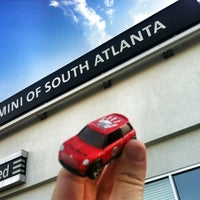 Photo taken at MINI of South Atlanta by Jessica H. on 4/28/2012