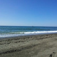 Photo taken at Playa Rio Seco by Csar D. on 8/25/2012