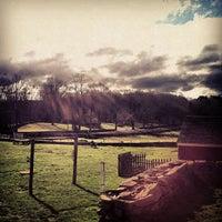 Photo taken at Ashlawn Farm Coffee by Jon A. on 4/2/2012