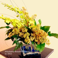 Photo taken at Absolutely Beautiful Flowers by Absolutely Beautiful F. on 3/15/2012