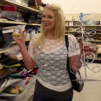 Photo taken at Arc Thrift Store by Jessie G. on 2/16/2012