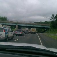 Photo taken at I-95 -- Westport by Mitch Rich-Boy J. on 6/19/2012