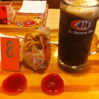 Photo taken at A&W by Hendra H. on 3/7/2012