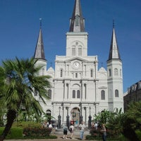 Photo taken at St. Louis Cathedral by Antoine B. on 4/6/2012