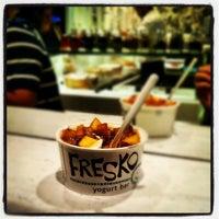 Photo taken at Fresko Yogurt Bar by Samantha K. on 8/31/2012