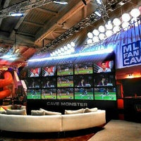 Photo taken at MLB Fan Cave by Fred M. on 8/10/2012