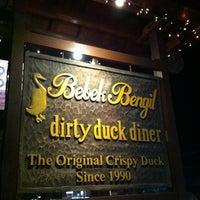 Photo taken at Bebek Bengil (Dirty Duck Diner) by Charleston C. on 4/7/2012