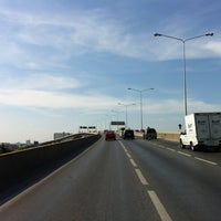 Photo taken at Rama III Bridge by shu on 3/3/2012