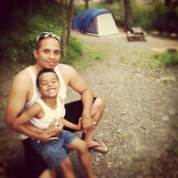 Photo taken at River Beach Campsites by George D. on 6/30/2012