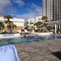 Photo taken at Hilton Waikiki Beach by RuTh on 8/19/2012