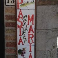 Photo taken at Pasta Maria by Stijn on 3/15/2012