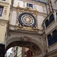 Photo prise au Gros Horloge par ScubaTanked le8/2/2012