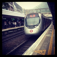 Photo taken at MTR Kowloon Tong Station by Tango C. on 4/2/2012