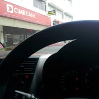 Photo taken at CIMB Bank by Fendy K. on 6/30/2012